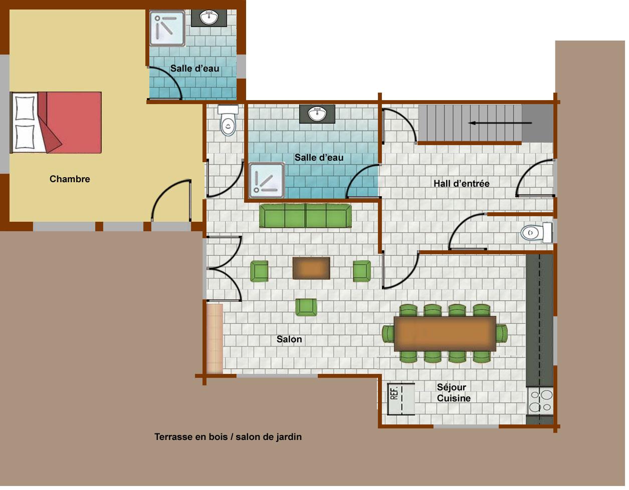 location d appartement plus de 12 personnes la toussuire. Black Bedroom Furniture Sets. Home Design Ideas